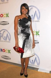 Taraji P Henson arrives at the 20th Annual Producers Guild Awards held at The Hollywood Palladium  Hollywood  California on the 24th of January 2009