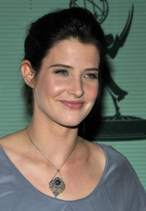 Cobie Smulders at How I Met Your Mother Evening at the Leonard H. Goldenson Theatre