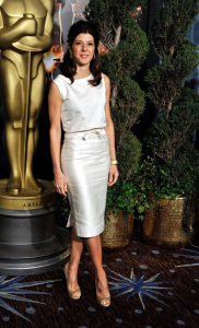 Marisa Tomei at the 2009 Oscar Nominees Luncheon event at the Beverly Hilton Hotel on February 2nd, 2009 in Hollywood