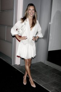 Alessandra Ambrosio arrives at The Return to Glamour by Victoria's Secret on December 2nd, 2008