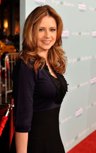 Jenna Fischer attends the Los Angeles Premiere of He's Just Not That Into You held the Grauman's Chinese Theatre in Hollywood, California on the 2nd of February 2009