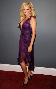 Bridget Marquardt arrives at the 51st Annual Grammy Awards