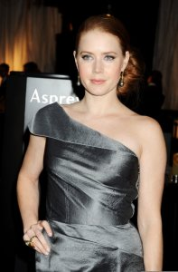 Amy Adams on the red carpet of the BAFTA Awards