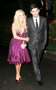 Bridget Marquardt arrives at the post 2009 Grammy Awards Party