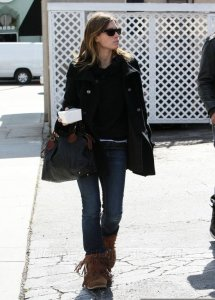 Jessica Biel candid in West Hollywood