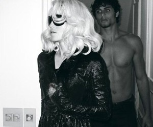 Madonna and topless Jesus Luz photos in W magazine March Issue 2009