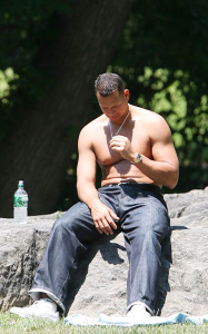Alex Rodriguez topless pictures