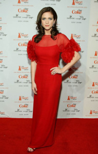 Brittany Snow attends the Heart Truth's Red Dress Collection fashion show