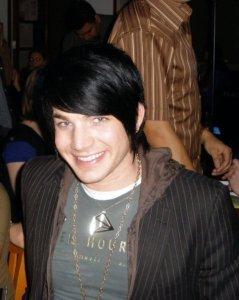 Adam Lambert smiling photo