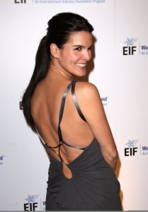 Angie Harmon arrives at the 14th Annual Saks Fifth Avenue's Unforgettable Evening on February 10th 2009