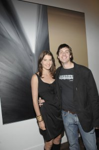 Cobie Smulders at the Grand Opening of Cella Gallery
