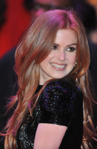 Isla Fisher at the premiere of Confessions Of A Shopaholic