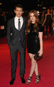 Hugh Dancy and Isla Fisher at the premiere of Confessions Of A Shopaholic