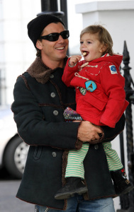 Gavin Rossdale with his son Kingston