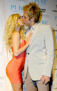 Heidi Montag and Spencer Pratt host a Valentines night party in Las Vegas on February 14th 2009 3
