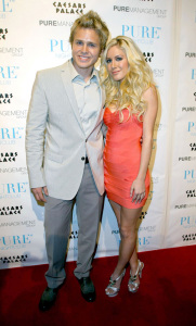 Heidi Montag and Spencer Pratt host a Valentines night party in Las Vegas on February 14th 2009 1