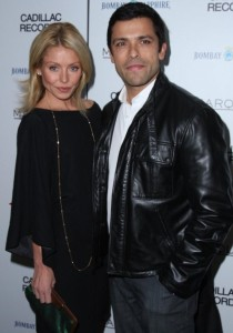 Kelly Ripa and Mark Consuelos arrive at the Cadillac Records Premiere in New York City on December 1st 2008