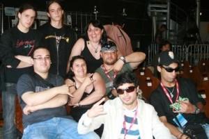 Zaher Zorgatti and his band members