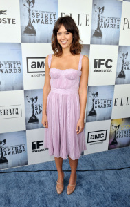 Jessica Alba arrives to the 2009 Film Independent's Spirit Awards on February 21st 2009 in Santa Monica California
