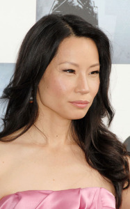 Lucy Liu arrives at the 2009 Film Independents Spirit Awards in Santa Monica on Saturday evening on February 21st 2009