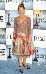 Sheryl Crow arrives at the 2009 Film Independents Spirit Awards in Santa Monica on Saturday evening on February 21st 2009