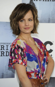 Mena Suvari at the 2009 Film Independent Spirit Awards in Santa Monica on Saturday evening on February 21st 2009