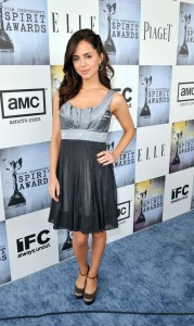 Eliza Dushku at the 2009 Film Independents Spirit Awards in Santa Monica on Saturday evening on February 21st 2009