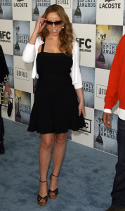Mariah Carey at the 2009 Film Independents Spirit Awards in Santa Monica on Saturday evening on February 21st 2009