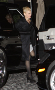 Gwen Stefani arrives at Cecconi for a Pre Oscar Party on February 20th 2009