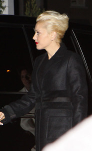 Gwen Stefani attends a Cecconi for a Pre Oscar Party on February 20th 2009