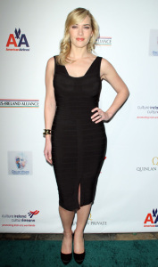 Kate Winslet arrives at the 2009 US Ireland Alliance Pre-Oscar Gala Awards Ceremony held at The Ebell Club on February 19th 2009