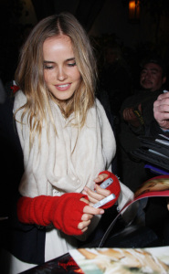 Isabel Lucas attends the pre-Oscar party 2009 at Chateau Marmont in Hollywood California 2