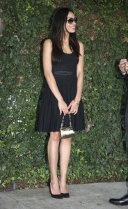 Rosario Dawson attends a pre-Oscars Party on February 4th 2009 1