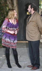 Elizabeth Perkins attends a pre-Oscars Party on February 4th 2009