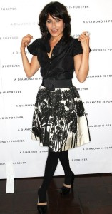 Lisa Edelstein arrives to the disney and miramax oscar nominees celebration pre Oscar Diamond Party 2