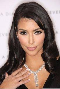 Kim Kardashian arrives to the disney and miramax oscar nominees celebration pre Oscar Diamond Party on February 21st 2009 3