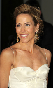 Sheryl Crow arrives at the 2009 Vanity Fair Oscar party hosted by Graydon Carter at the Sunset Tower Hotel on February 22nd 2009 in West Hollywood California
