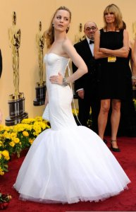Melissa George arrives on the red carpet of the 81st Annual Academy Awards on February 22nd 2009 2