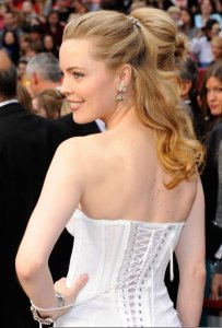Melissa George arrives on the red carpet of the 81st Annual Academy Awards on February 22nd 2009 3