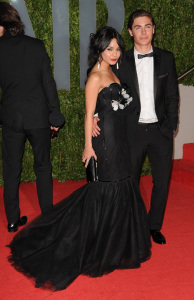 Zac Efron and Vanessa Hudgens arrive on the red carpet of the 81st Annual Academy Awards on February 22nd 2009 3