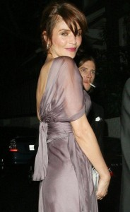 Helena Christensen spotted leaving Chateau Marmont in Los Angeles California on February 22nd 2009 4