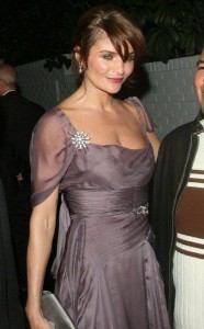 Helena Christensen spotted leaving Chateau Marmont in Los Angeles California on February 22nd 2009 3