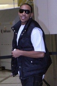 Ludacris spotted checking in for his flight at LAX airport in Los Angeles California on February 23rd 2009 1
