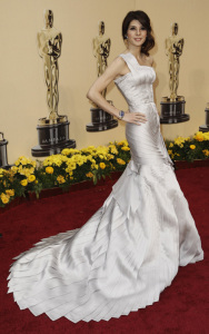 Marisa Tomei arrives at the 81st Annual Academy Awards held at Kodak Theatre on February 22th 2009 in Los Angeles