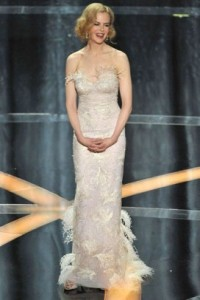 Nicole Kidman presents during the 81st Annual Academy Awards held at Kodak Theatre on February 22nd 2009 in Los Angeles California