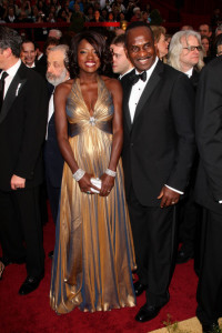 Viola Davis and her husband Julius Tennon arrive at the 81st Annual Academy Awards held at Kodak Theatre on February 22nd 2009 in Los Angeles California