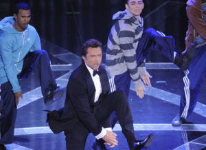 hugh jackman on stage during the 81st Annual Academy Awards held at The Kodak Theatre on February 22nd 2009 in Hollywood California