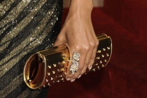 Halle Berry glam ring at the 81st Academy awards