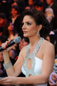 Hilda Khalifeh the presenter of star academy at the first prime