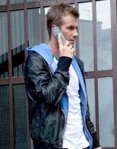 David beckham and Moto oura